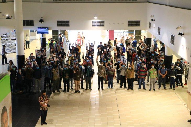 155 WNI dipulangkan ke Indonesia dari Papua Nugini