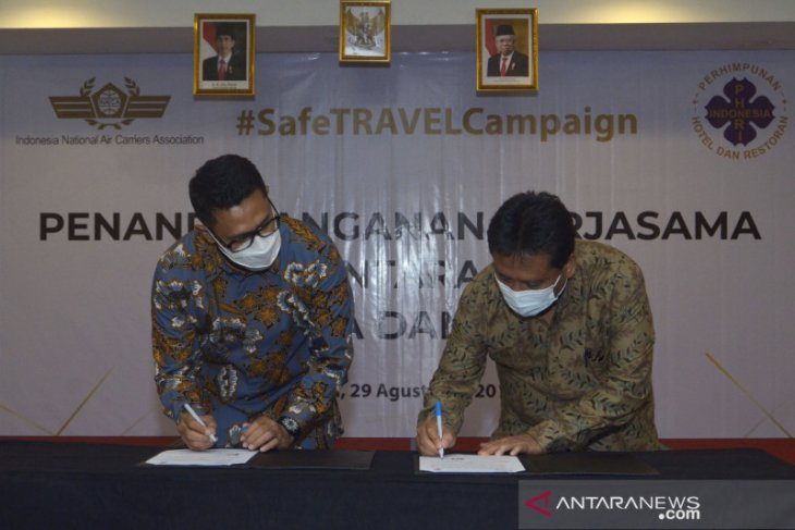 Instansi penerbangan-pariwisata kampanyekan wisata aman di Bali
