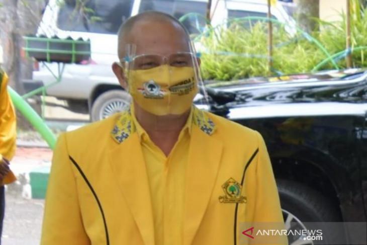 HM Kusasi kembali terpilih pimpin Partai Golkar HSS masa bakti 2020-2025