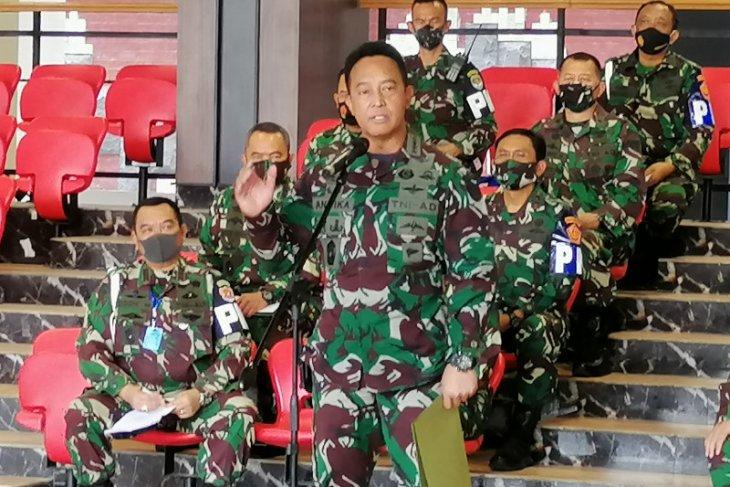 Kasad sebutkan 12 oknum TNI AD ditahan di Guntur, terkait penyerangan ke Mapolsek Ciracas