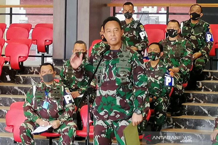 Kasad lantik 1.198 perwira lulusan Pendidikan Pembentukan Perwira TNI AD TA 2020