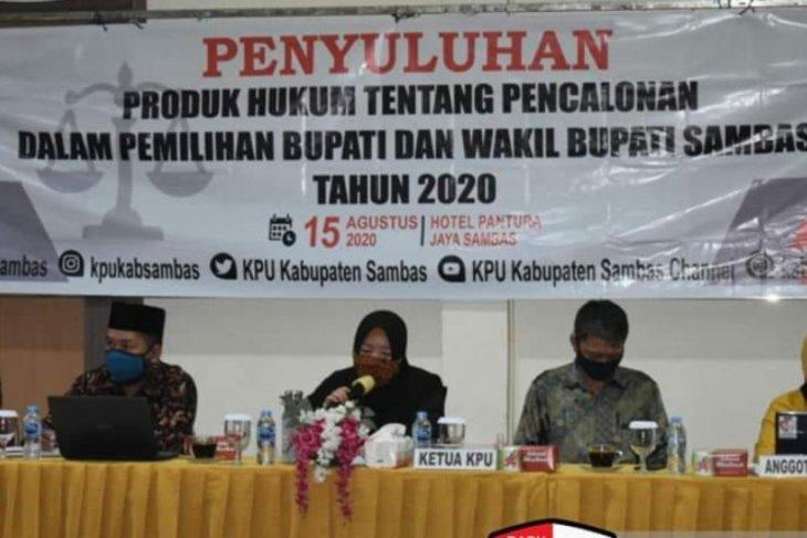 KPU Sambas matangkan persiapan pendaftaran bakal paslon Pilkada 2020