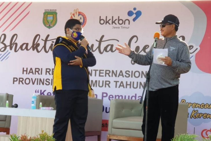Wali Kota Maidi ajak remaja Kota Madiun terlibat pencegahan COVID-19