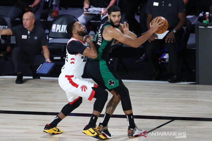 Celtics menangi gim pertama semifinal Timur melawan Raptors
