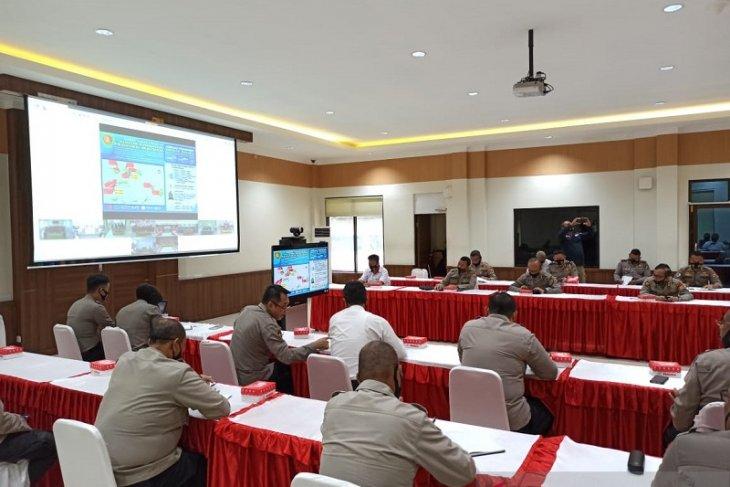 Wakapolda Maluku ingatkan  Polres jajaran sosialisasi pedoman cegah virus corona