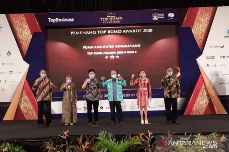 PDAM Bengkayang raih penghargaan Top Award BUMD 2020