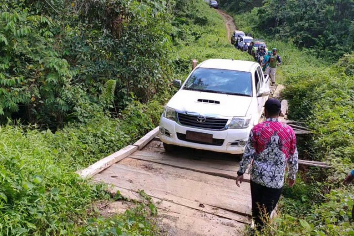 Perjalanan Tim Media Center Paser menuju Dusun Mului