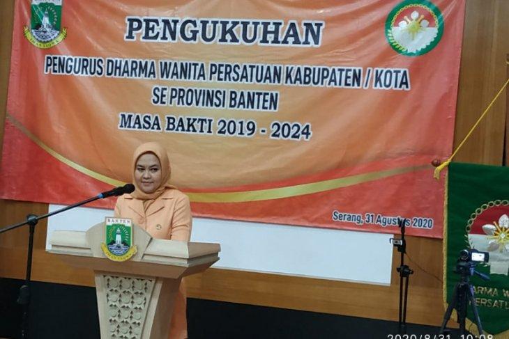 DWP Banten ajak anggotanya sosialisasikan wajib gunakan masker