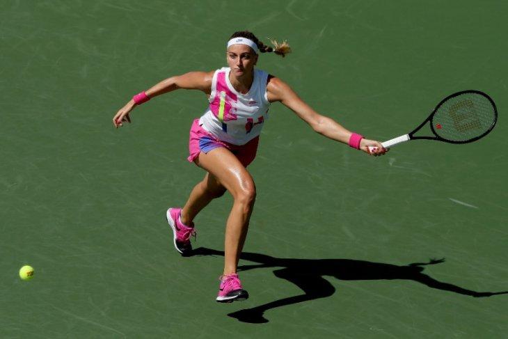 Tenis - Kvitova memenangi babak pertama US Open