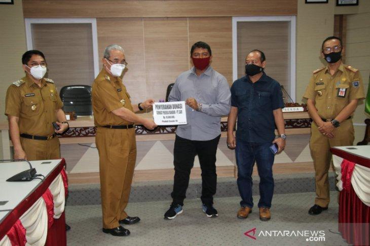 Serikat Pekerja Mandiri PT SAM serahkan donasi senilai ribuan masker
