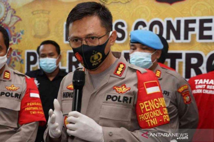 Polres Bekasi ringkus pengedar sabu dikemas dalam bungkus permen