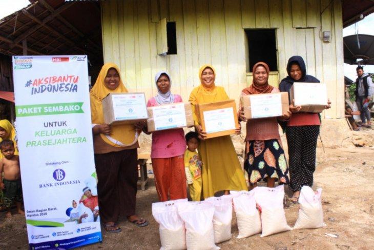 ACT-BI Maluku bagikan bahan pokok untuk warga di tiga kabupaten