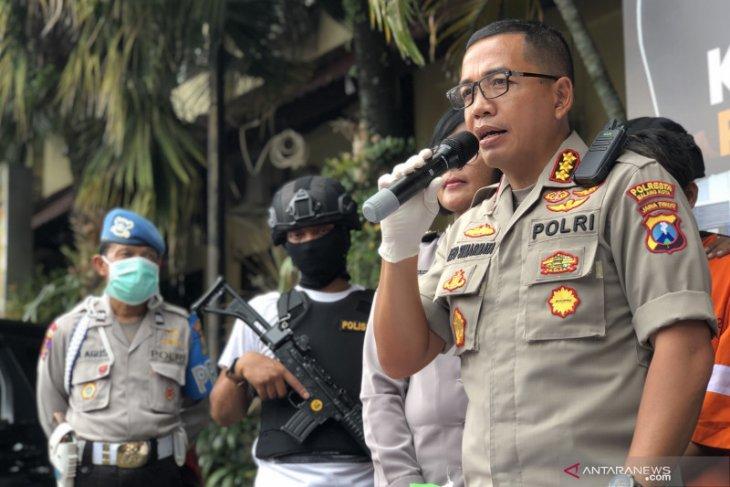 Polresta Malang Kota tetapkan satu tersangka kasus unjuk rasa talak UU Cipta Kerja ricuh