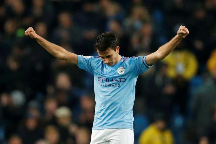 Dibidik Barca, Eric Garcia tak mau tinggalkan Manchester City