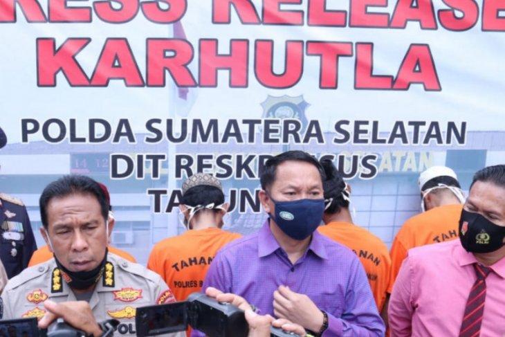 Terjaring selama musim kemarau, 22 orang pembakar lahan diproses hukum