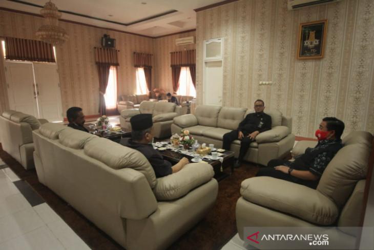 Wali Kota terima kunjungan Ketua Pengadilan Agama