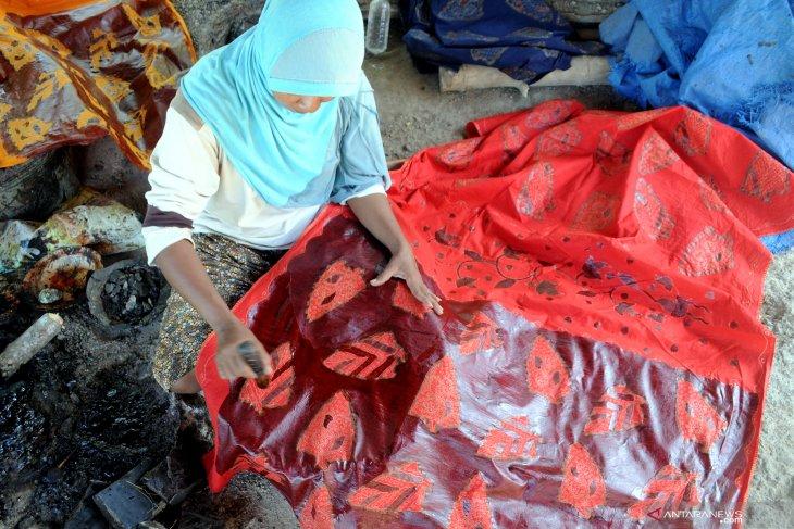 Produksi batik pamekasan meningkat