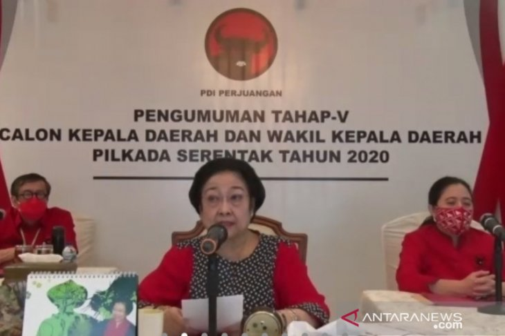Ketua Umum DPP PDIP Megawati ancam kadernya yang tidak solid menangkan Pilkada
