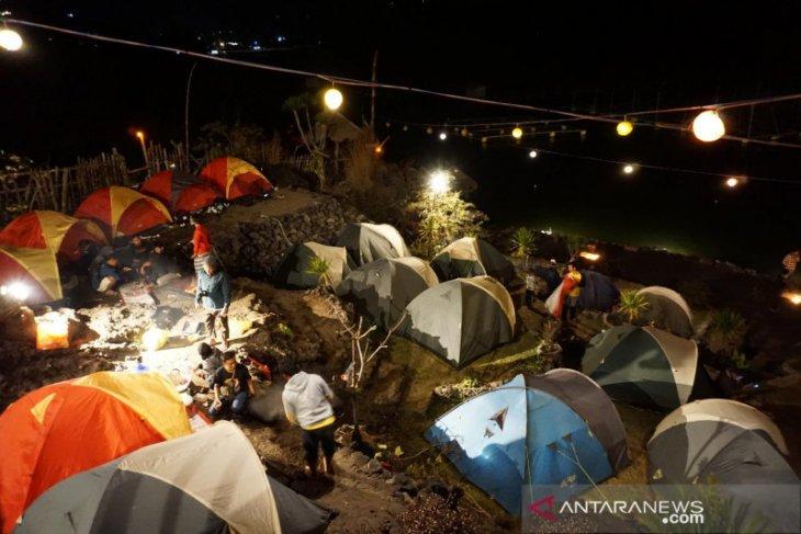 Komunitas Densefic lakukan touring semarakkan wisata Danau Batur