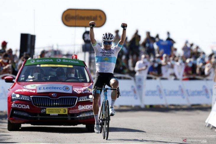 Lutsenko menangi etape enam Tour de France