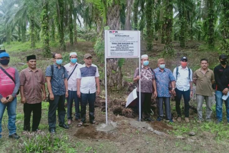 KPK menyita lahan sawit 33 ribu meter persegi terkait kasus Nurhadi
