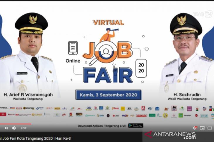 Disnaker Tangerang:  44.207 lamaran masuk via Job Fair Online