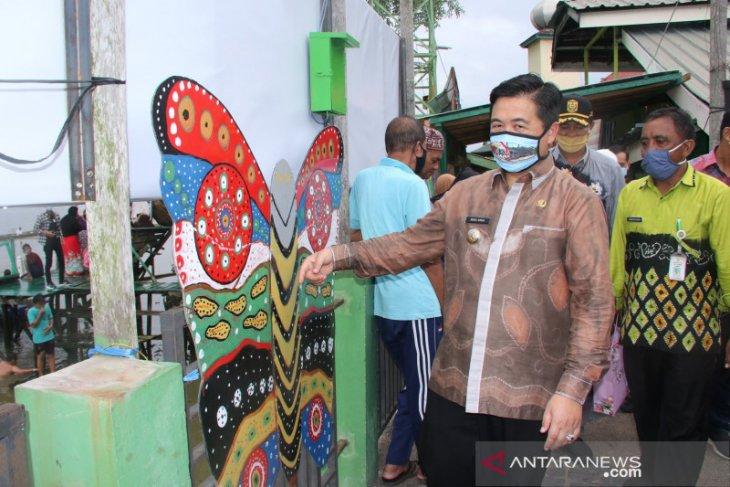 Wali Kota resmikan gapura Kampung Hijau