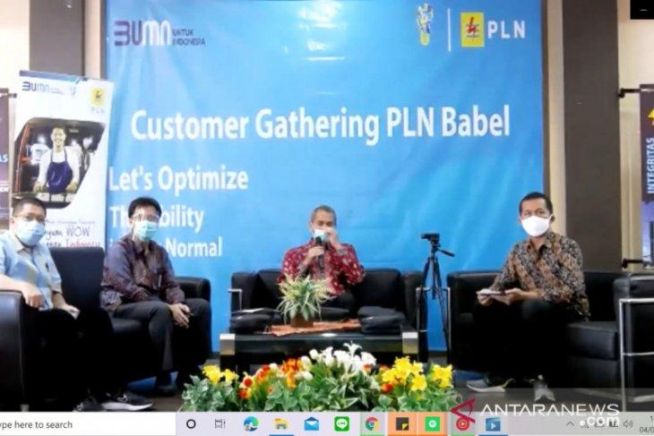 Rayakan HPN, GM PLN Babel sapa pelanggan via webinar