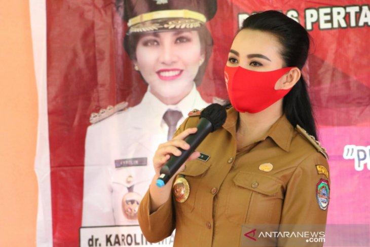 Karolin semangati Wali Kota Singkawang yang terkonfirmasi positif COVID-19