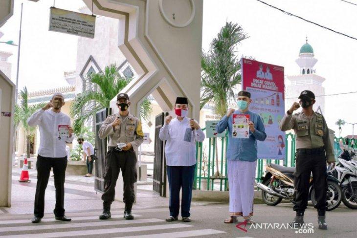 Pemko Sabang Gebrak masker serentak di seluruh masjid