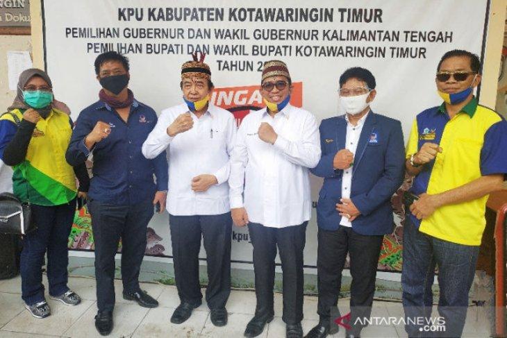 Pilkada Kotawaringin Timur, Taufiq-Supriadi optimistis menang