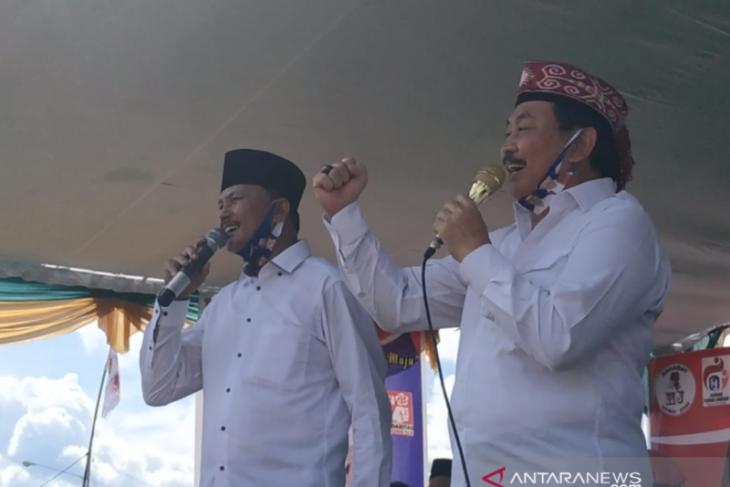 Hamdi Jafar-John Itang menolak debat publik Pilkada Kapuas Hulu di Jakarta