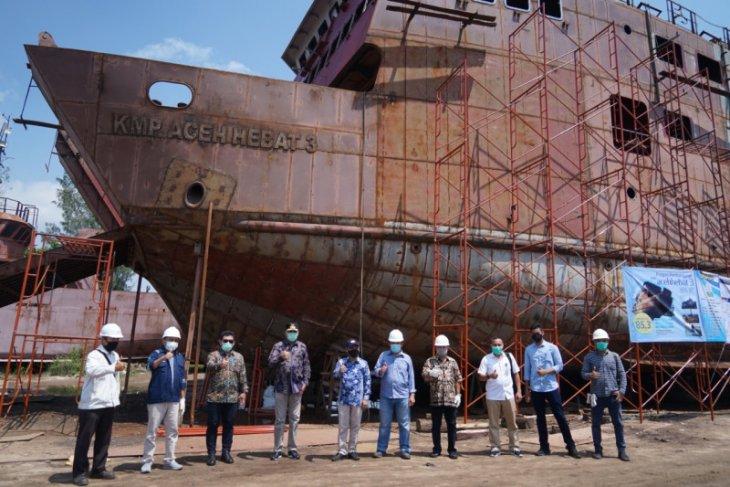 Plt Gubernur optimistis kapal Aceh Hebat 3 selesai tepat waktu