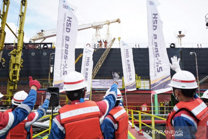 Pertamina ekspor 200 ribu barel Solar HSD tujuan Malaysia