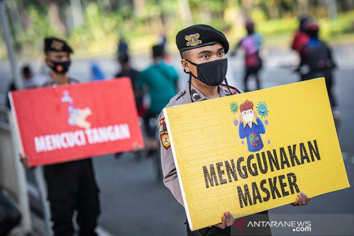 Di Jakarta kasus baru COVID-19  sebanyak 1.245 pada Minggu