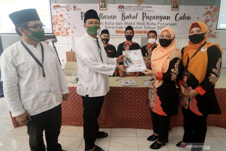 Pendaftaran Bakal Calon Wali Kota Pasuruan
