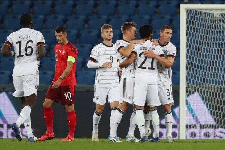 Jerman ditahan seri 1-1 oleh Swiss, UEFA Nations League