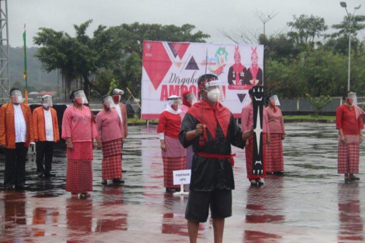 HUT ke-445 Kota Ambon dirayakan secara virtual