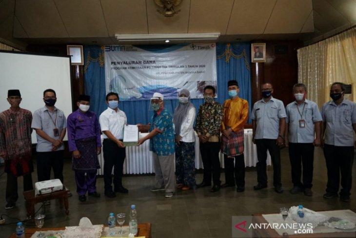 PT Timah salurkan bantuan modal UMKM Rp980 juta di Bangka Barat