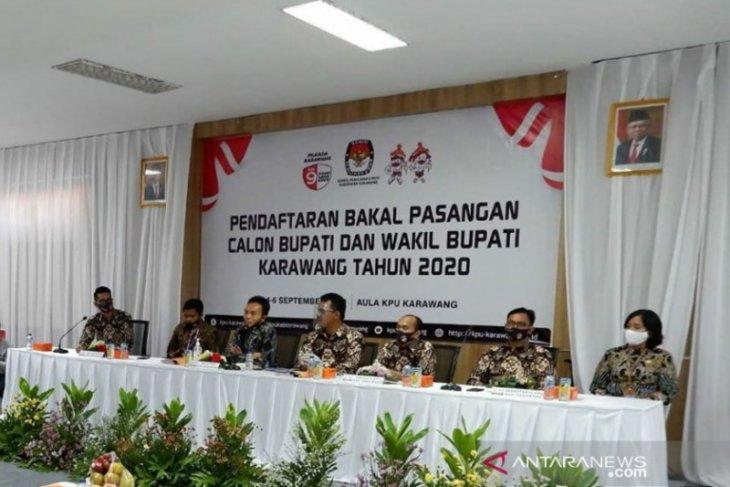 Pemeriksaan kesehatan calon peserta pilkada Karawang di RSPAD