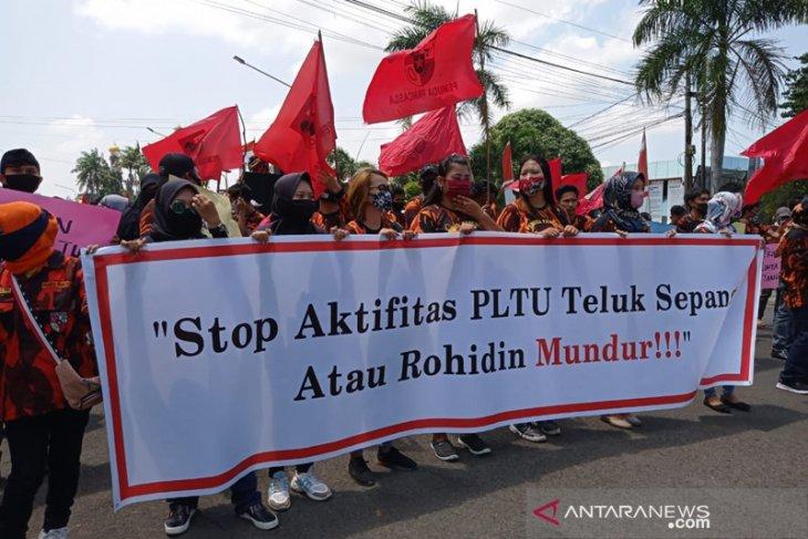 Pemuda Pancasila minta gubernur Bengkulu tidak keluarkan izin operasi PLTU Teluk Sepang
