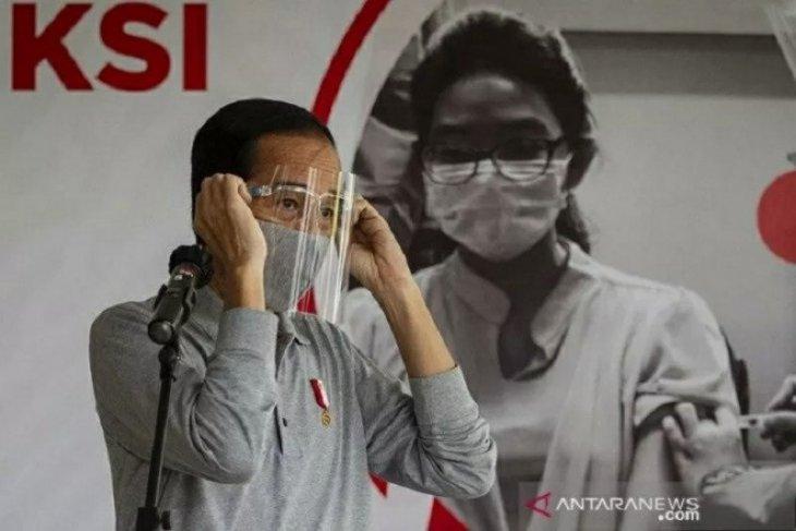Presiden Jokowi: Pemakaian masker wujud disiplin nasional