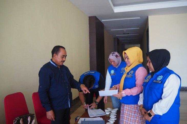 10 pasangan Balon BupatiWali Kota tes urine di BNNP Malut