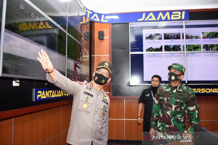 Pangdam II/Sriwijaya apresiasi Asap Digital Polda Jambi antisipasi karhutla