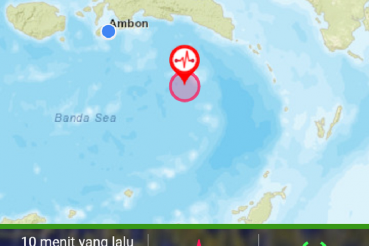 Gempa 5,0 magnitudo guncang Maluku Tenggara Barat