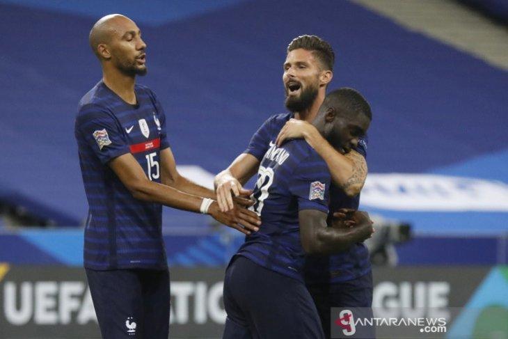 UEFA Nations League: Prancis bekuk Kroasia 4-2