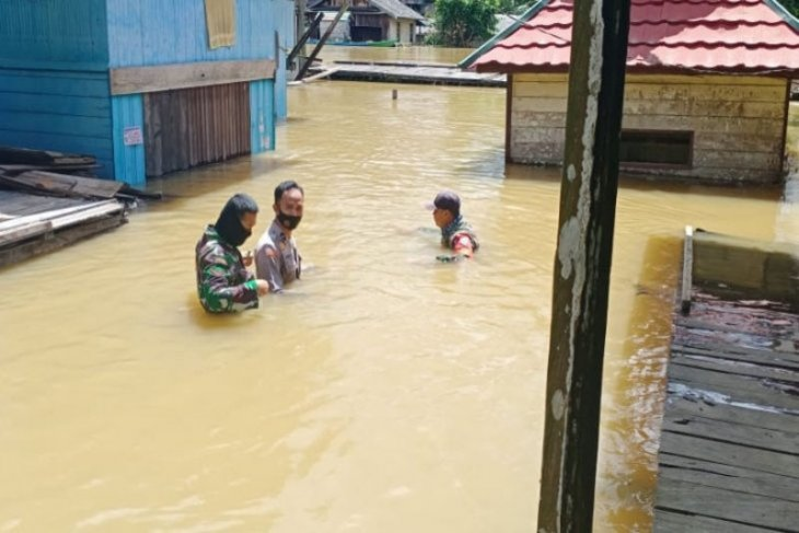 Banjir melanda dua kecamatan di Kotawaringin Timur