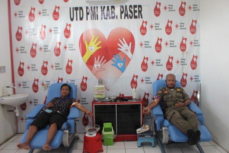 PMI Paser gelar donor darah cegah kematian