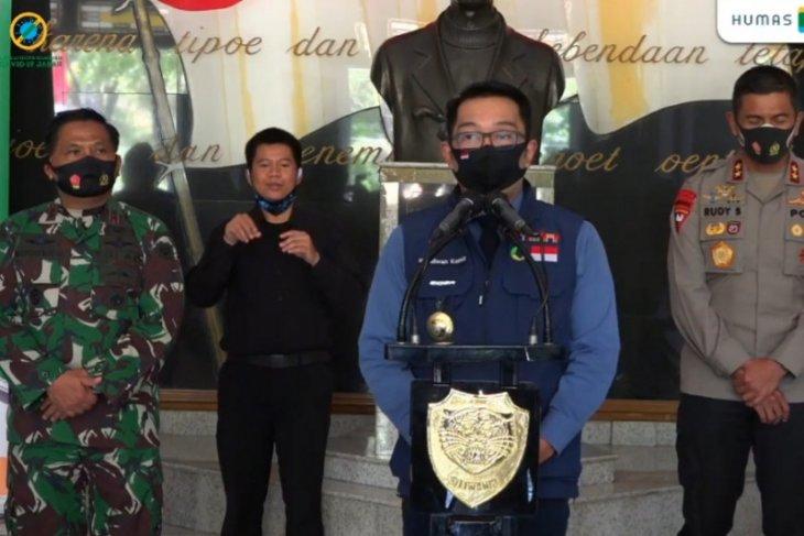 Gubernur Ridwan Kamil kirim teguran ke bakal paslon pelanggar protokol kesehatan