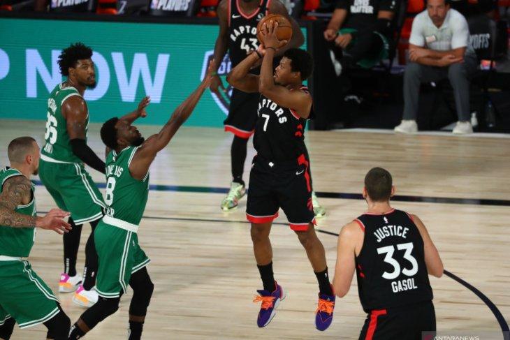 Raptors paksakan gim ketujuh lawan Celtics melalui dua overtime